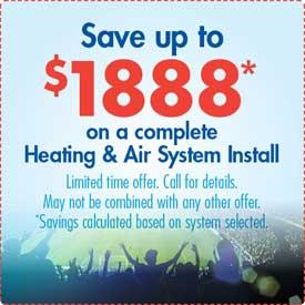 HVAC Installation Special