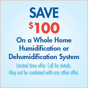 Humidification or Dehumidification Special