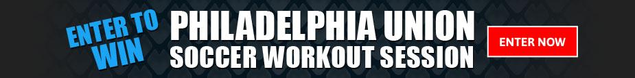 Contest - Philadelphia Union Soccer Workout Session