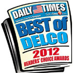 Best Of DelCo Reader's Choice Award 2012