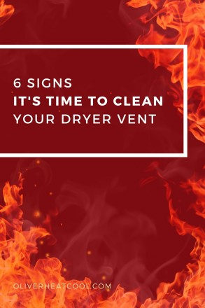 6 Signs It's Time To Clean Your Dryer Vent