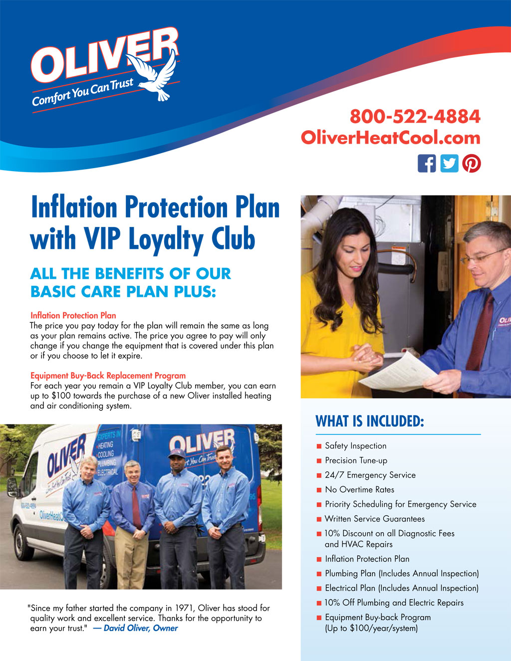 Inflation Protection Plan
