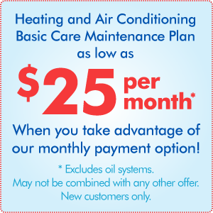 Heating / Cooling Basic Care Plan