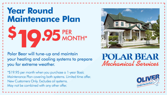 Polar Bear Year Round Maintenance Coupon