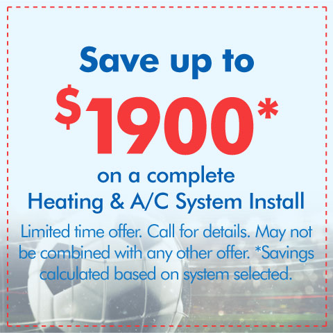 Complete HVAC System Install Special