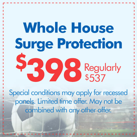 Whole House Surge Protection Special