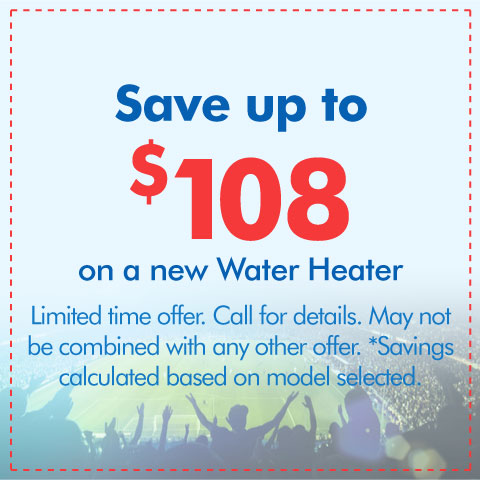 New Water Heater Special