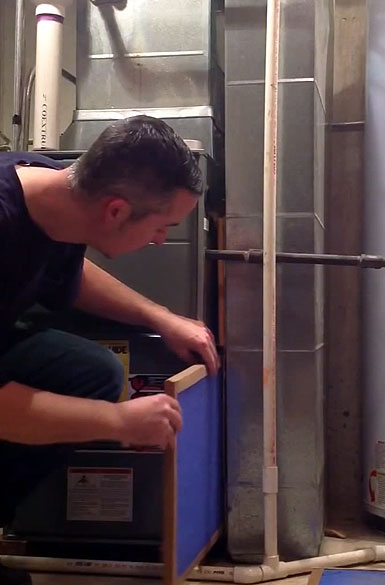 How to Install A Furnace Filter