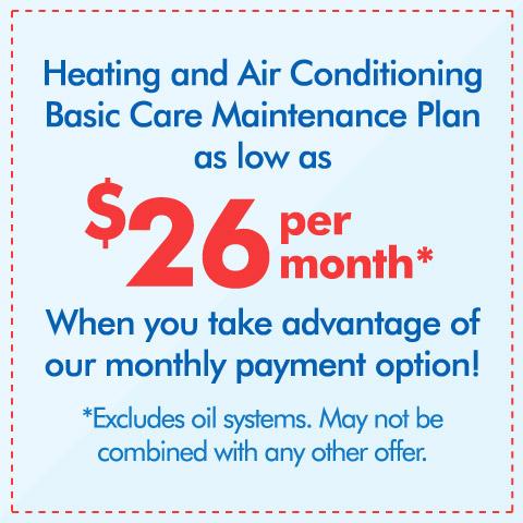 Basic Care Maintenance Plan Coupon