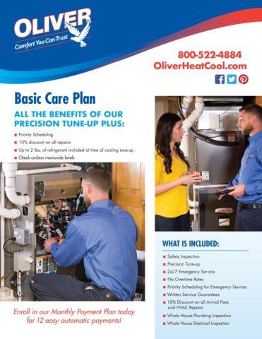 Oliver Basic Care Plan