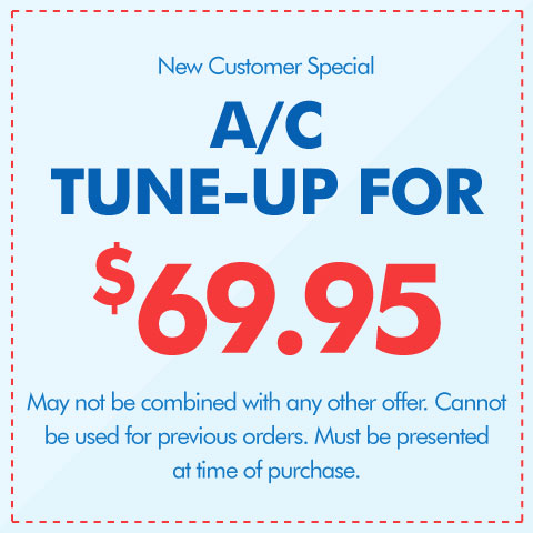 A/C Tune-Up for $69.95