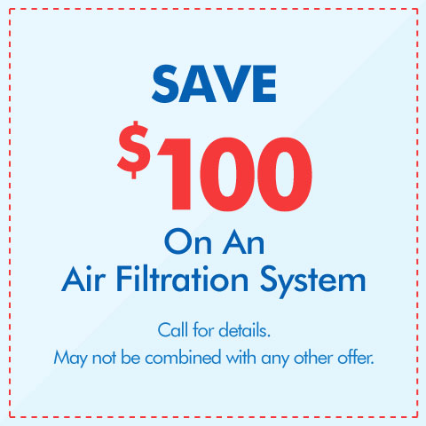 Save $100 On An Air Filtration System