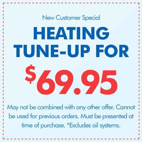 Heating Tune-Up for $69.95