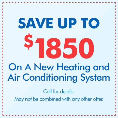 Save $1850 On A New HVAC System