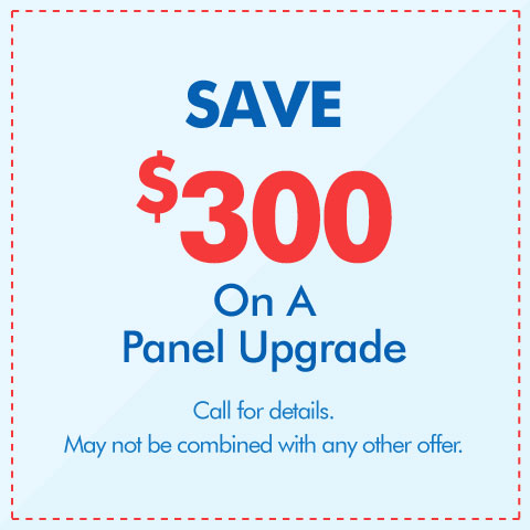 Save $300 On An Electrical Panel Upgrade