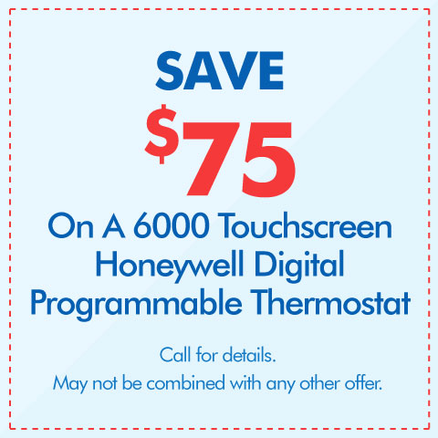 Save $75 On A Digital Programmable Thermostat