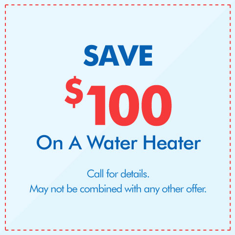 Save $100 On A Water Heater