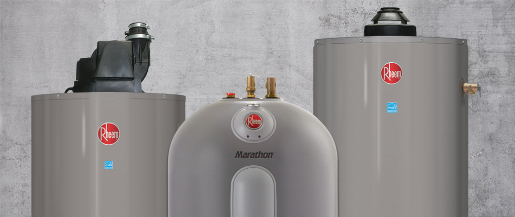 Water Heaters Installed by Oliver