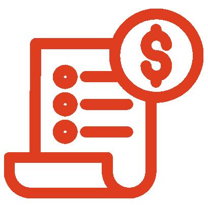 Air Conditioning Repair Utility Bill icon