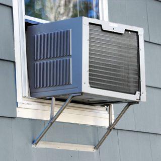 Install a Window A/C Bracket