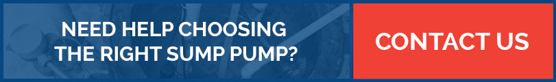 Choosing Sump Pump for Installation CTA