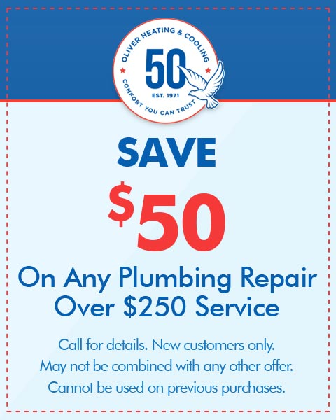 Save $50 On Any Plumbing Repair