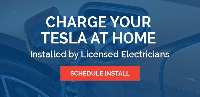 Tesla Home Charging Station Installation CTA