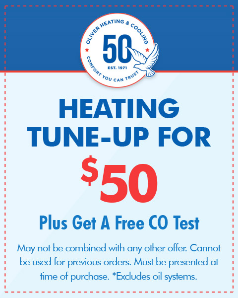 Heating Tune-Up for $50